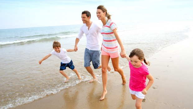 When going on a family holiday, make sure there are activities that the kids will enjoy.
