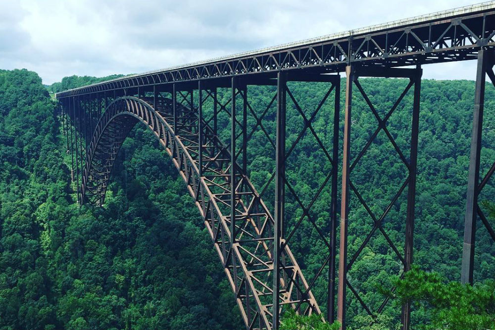 New River Gorge Bridge West Virginia Wendy Perrin