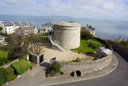The Martello Tower in Dalkey is ideal for couples