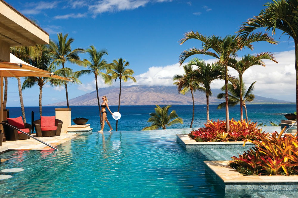 Serenity Pool at the Four Seasons Maui.