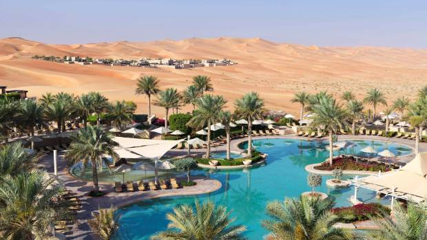 Qasr Al Sarab: This man-made resort cost $5 billion to build and you can see why.