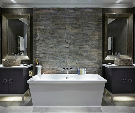 Great Dixters Duplex Master Suite bathroom