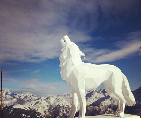 Beauty comes in different forms in Courchevel