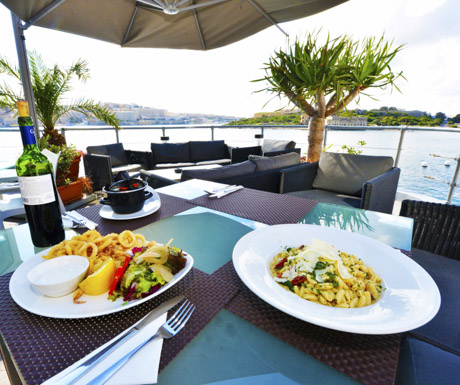Fortina Spa Resort - The Terrace Restaurant