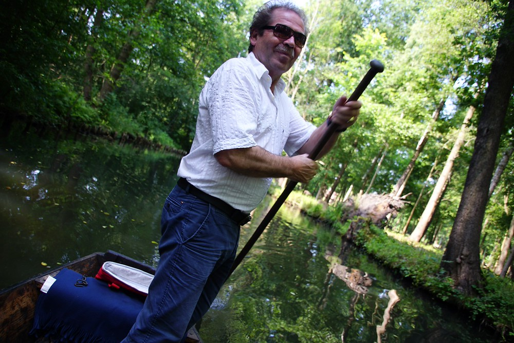 Our favorite experience on our recent visit to Germany was to go punting down the Spreewald canals.