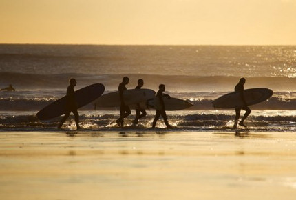 Surf some of the best breaks in Britain