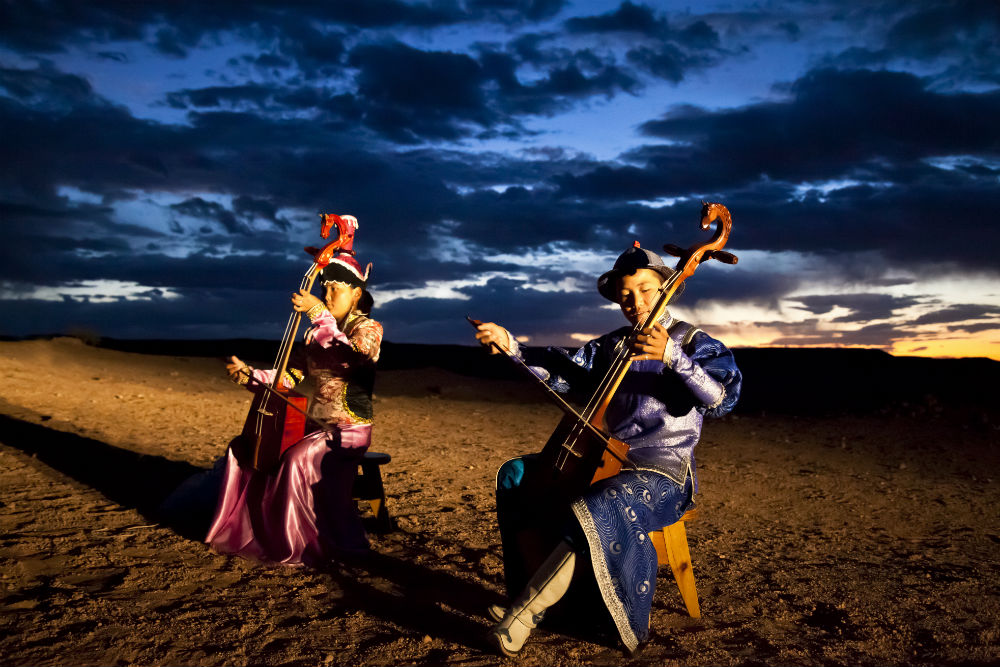 Musicians in Mongolia. Photo: J. Doyle