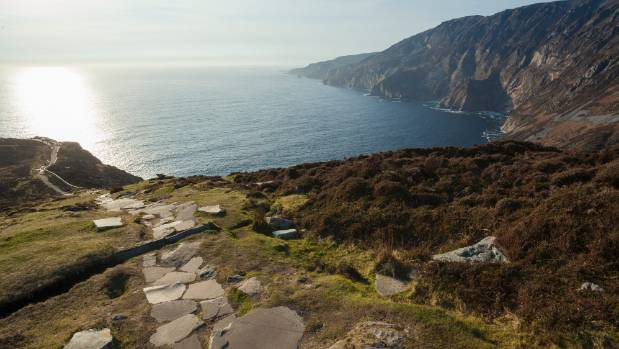 Donegal, Ireland is home to the Slieve League Cliffs (Sliabh Liag), some of the tallest seaside cliffs in Europe.