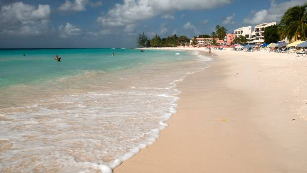 The island of Barbados in the Caribbean is the perfect place for a relaxed coastal walk.